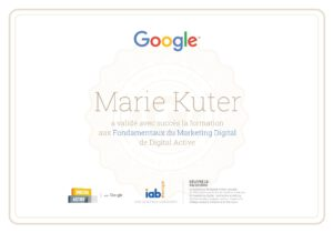Google Digital Active certified