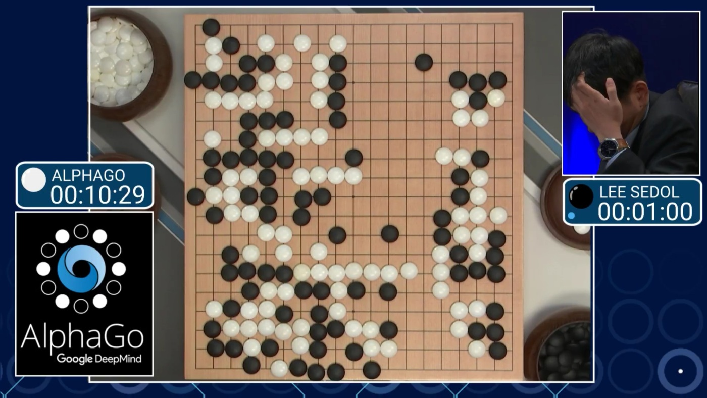 Alphago Go game vs. Lee Sedol